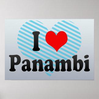 Eu amo Panambi, Brasil. Eu Amo O Panambi, Brasil Impressão