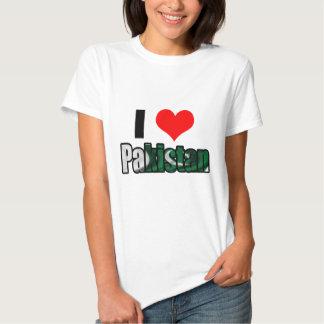 Eu amo Paquistão Tshirt