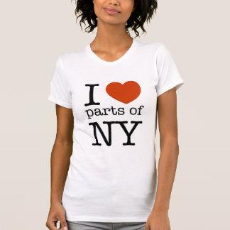 Eu amo partes de NY Tshirt