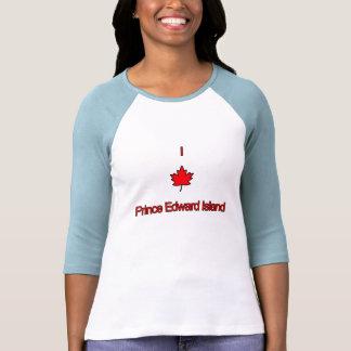 Eu amo PEI Prince Edward Island Camiseta