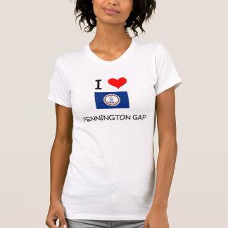Eu amo Pennington Gap Virgínia Camisetas