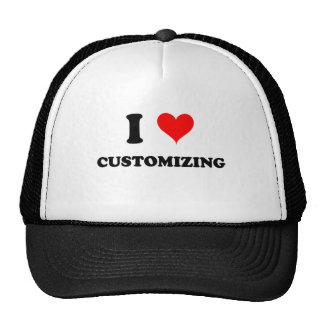 Eu amo personalizar bonés