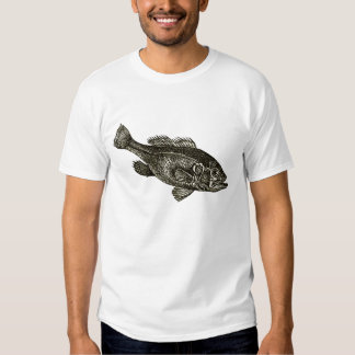 Eu amo pescar tshirts