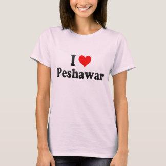 Eu amo Peshawar, Paquistão Camiseta