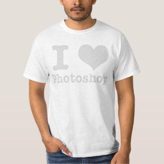Eu amo Photoshop Camiseta