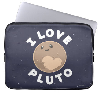 Eu amo Pluto Capa Para Notebook