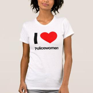 eu amo policiais tshirts