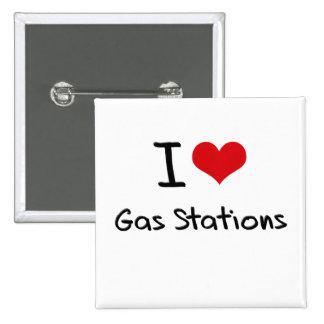 Eu amo postos de gasolina boton