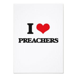 Eu amo pregadores convites personalizados