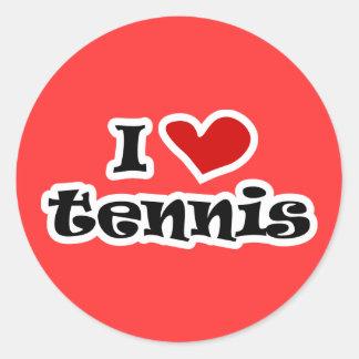 Eu amo presentes do tênis e as camisas de t com adesivo