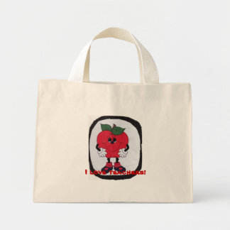 Eu amo professores! bolsa para compras