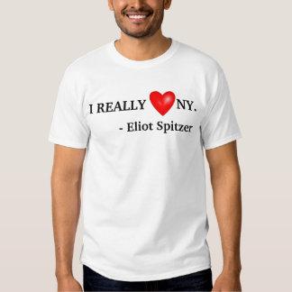 EU amo REALMENTE NY - Eliot Spitzer Tshirt