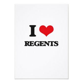 Eu amo regentes convite personalizados