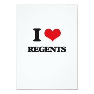 Eu amo regentes convites