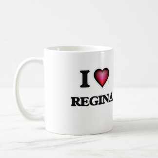 Eu amo Regina Caneca De Café