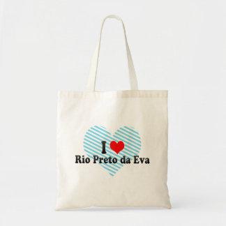 Eu amo Rio Preto a Dinamarca Eva Brasil Bolsa Para Compras