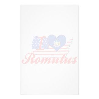 Eu amo Romulus, New York Papéis Personalizados