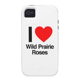 eu amo rosas selvagens da pradaria capa para iPhone 4/4S