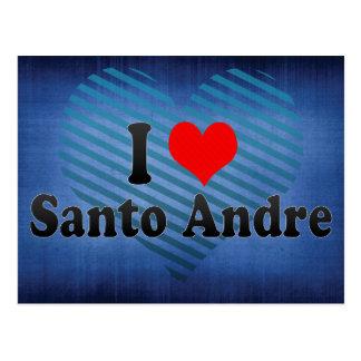 Eu amo Santo Andre, Brasil Cartão Postal