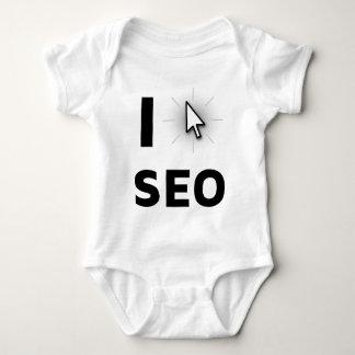 Eu amo SEO Body Para Bebê