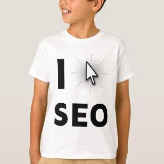 Eu amo SEO Camiseta