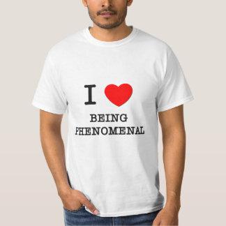 Eu amo ser fenomenal tshirts
