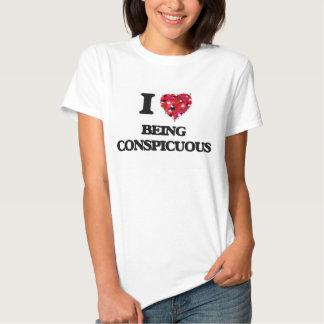 Eu amo ser notável t-shirt