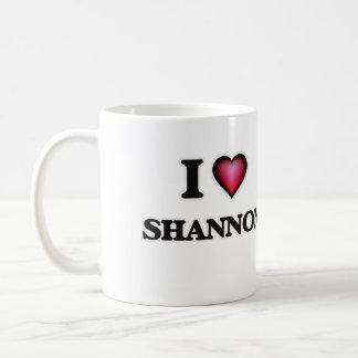 Eu amo Shannon Caneca De Café