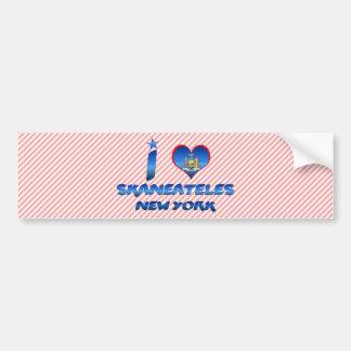 Eu amo Skaneateles, New York Adesivo Para Carro