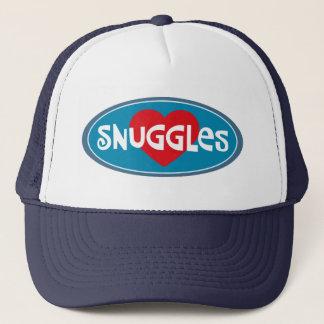 Eu amo Snuggles Boné