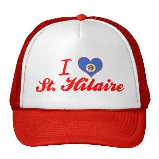 Eu amo St Hilário Minnesota Bonés