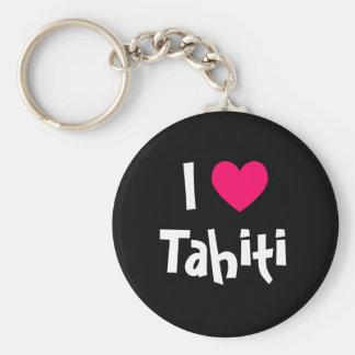 Eu amo Tahiti Chaveiro