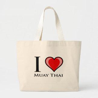 Eu amo tailandês de Muay Bolsa Para Compra