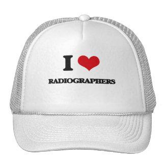 Eu amo técnico de radiologia boné