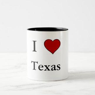 Eu amo Texas - caneca do Dois-Tom