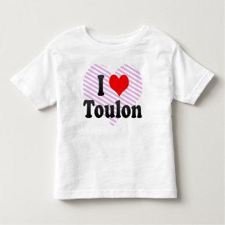 Eu amo Toulon, France T-shirts