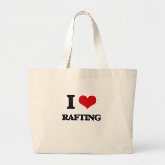 Eu amo transportar bolsa