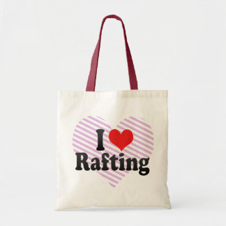 Eu amo transportar bolsa para compra