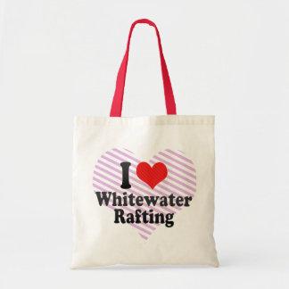 Eu amo transportar de Whitewater Bolsa Para Compras