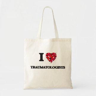Eu amo Traumatologists Sacola Tote Budget