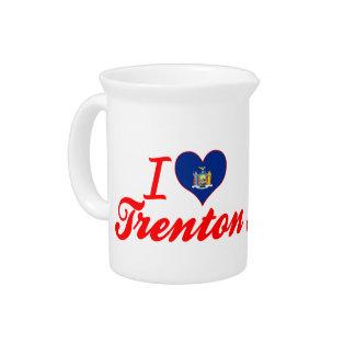 Eu amo Trenton, New York Jarro