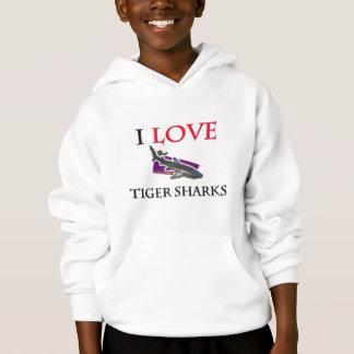 Eu amo tubarões de tigre