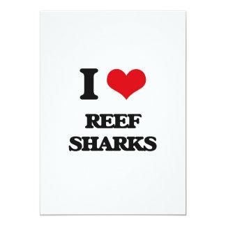 Eu amo tubarões do recife convites personalizado