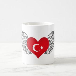 Eu amo Turquia - asas Caneca De Café