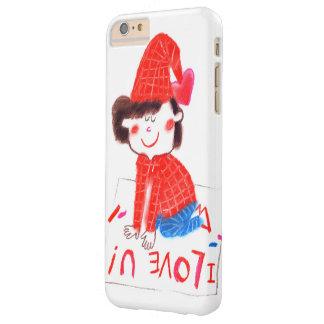 EU AMO U CAPA BARELY THERE PARA iPhone 6 PLUS