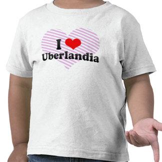 Eu amo Uberlandia, Brasil T-shirt