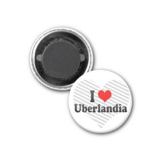Eu amo Uberlandia Brasil Imãs