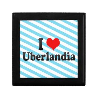 Eu amo Uberlandia, Brasil Estojo Para Jóias