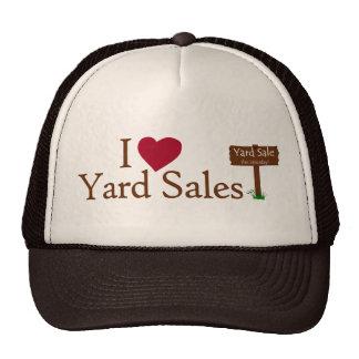 Eu amo vendas de jardim boné