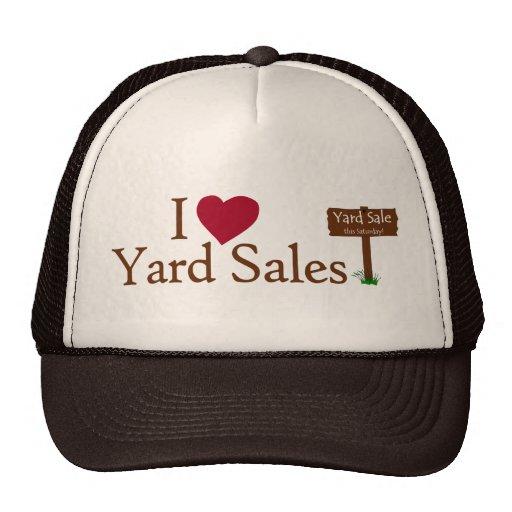 Eu amo vendas de jardim bonés